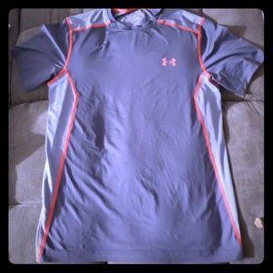 Under Armour shirts heatgear color gray